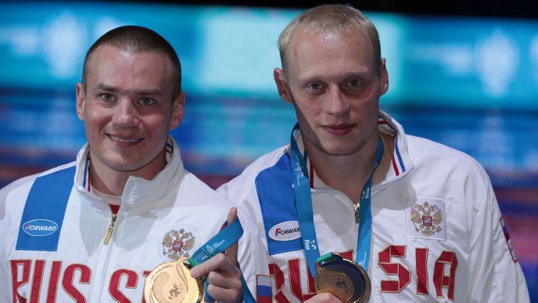 Сегодня. Будапешт. Евгений КУЗНЕЦОВ и Илья ЗАХАРОВ. Фото AFP