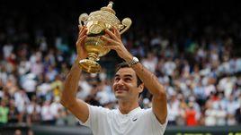 Все победы Федерера на Уимблдоне
