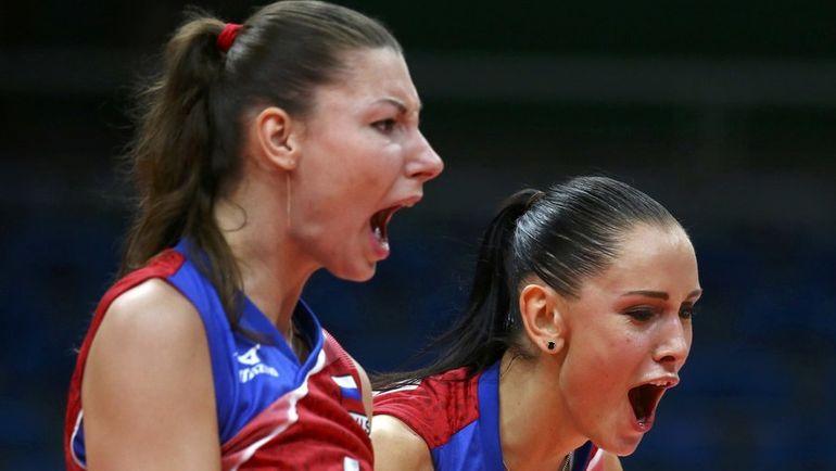 Ирина КОРОЛЕВА (ЗАРЯЖКО) и Наталия ГОЧАРОВА. Фото REUTERS
