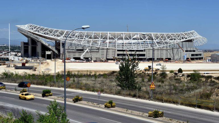 """""""Атлетико"""" сыграет первый матч на новом стадионе. Фото AFP"""