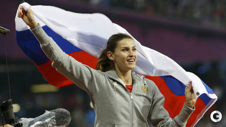 2012 год. Анна ЧИЧЕРОВА на Олимпиаде в Лондоне.