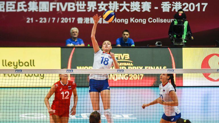 Сборная России обыграла команду Китая. Фото AFP