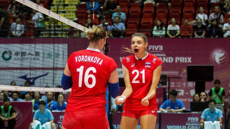 Россиянки вели по ходу матча со счетом 2:0, но не смогли удержать преимущество. Фото AFP