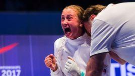Сегодня. Лейпциг. Татьяна ГУДКОВА празднует победу в финале чемпионата мира.