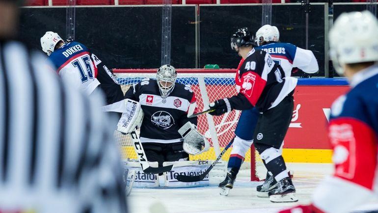 Александр ГЕОРГИЕВ в игре за молодежку ТПС. Фото Timo SAVELA/Elite Prospects