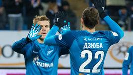 Выйдут ли на поле в матче Лиги Европы Александр КОКОРИН (слева) и Артем ДЗЮБА?