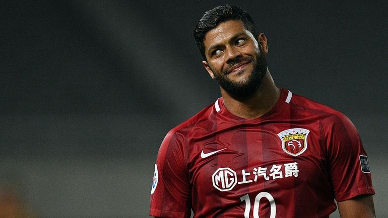 """Нападающий клуба """"Шанхай Шанган"""" ХАЛК. Фото AFP"""