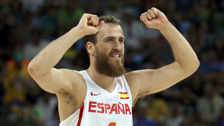 Серхио РОДРИГЕС в составе сборной Испании. Фото REUTERS