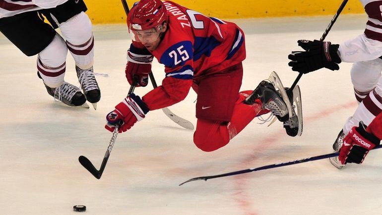 Данис ЗАРИПОВ: вариант с НХЛ исключен. Фото AFP