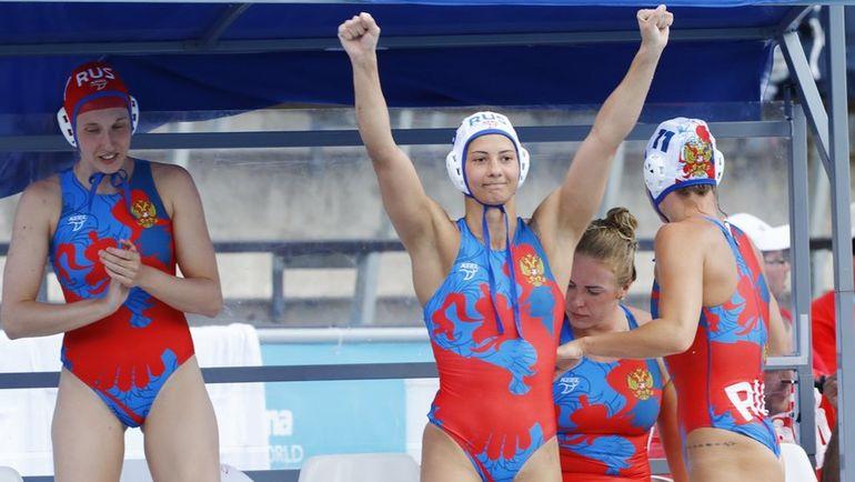 Сегодня. Будапешт. Канад - Россия - 9:11. Россиянки празднуют победу в матче за третье место чемпионата мира. Фото REUTERS