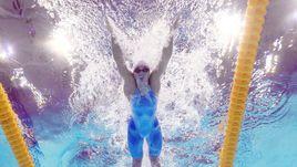 Сегодня. Будапешт. Золотой заплыв Юлии ЕФИМОВОЙ на 200-метровке.