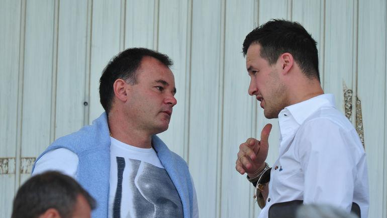 Александр ГРИШИН (слева). Фото Александр ФЕДОРОВ,