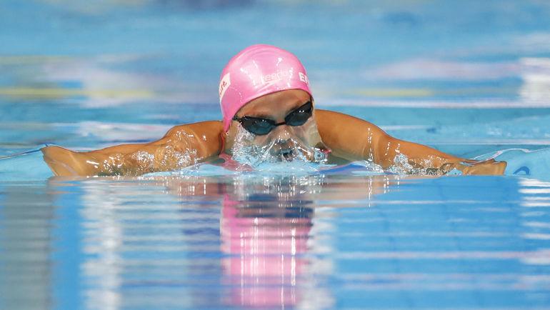Юлия ЕФИМОВА в финале 100-метровки. Фото AFP