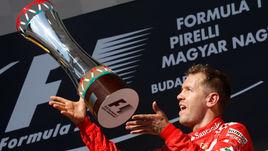 """Сегодня. Будапешт. """"Гран-при Венгрии"""". Себастьян ФЕТТЕЛЬ."""