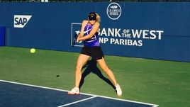 Мария ШАРАПОВА готовится вернуться на корт на турнире в Стэнфорде.