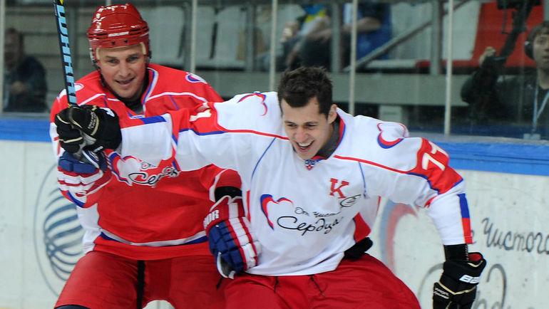 Сергей ФЕДОРОВ (слева) и Евгений МАЛКИН. Фото Никита УСПЕНСКИЙ, «СЭ»
