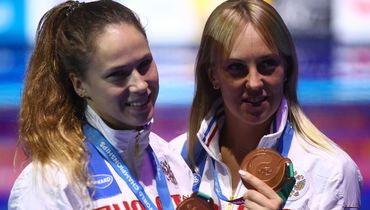 Надежда БАЖИНА (слева) и Кристина ИЛЬИНЫХ. Фото Reuters