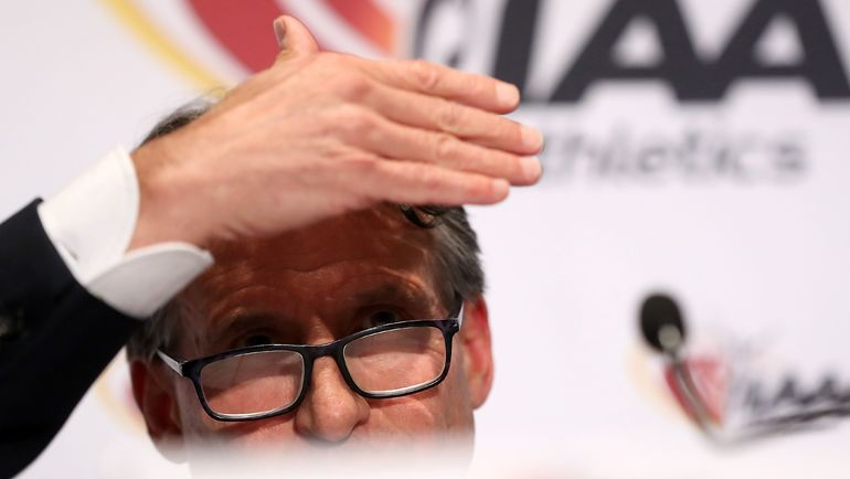 Глава ИААФ Себастьян КОЭ. Фото AFP