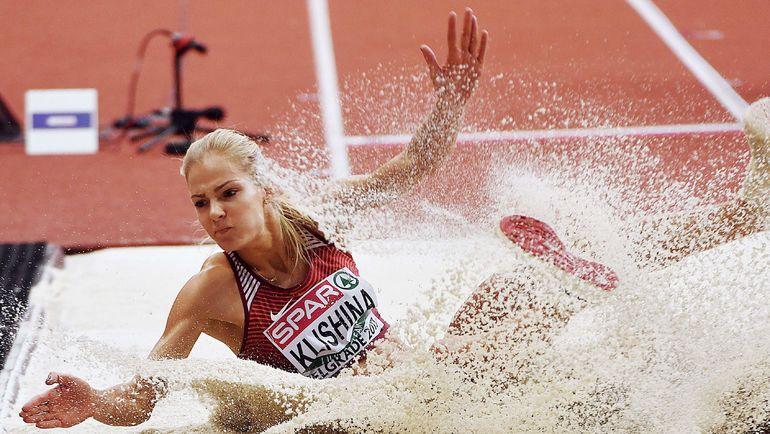 Трюк с резинкой, как на чемпионате Европы в Белграде, у Дарьи КЛИШИНОЙ не пройдет. Фото AFP