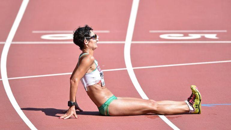 Обладательница мирового рекорда Инес ЭНРИКЕС - 4:08.26. Фото AFP