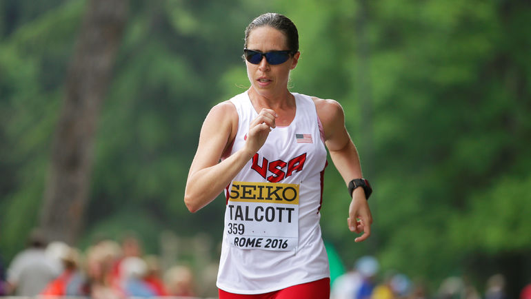В 2016 году на командном чемпионате мира американка Эрин ТЭЛКОТТ стала первой женщиной в истории турнира, преодолевшей 50 км. Она финишировала 40-й с результатом 4:51.08. Фото REUTERS