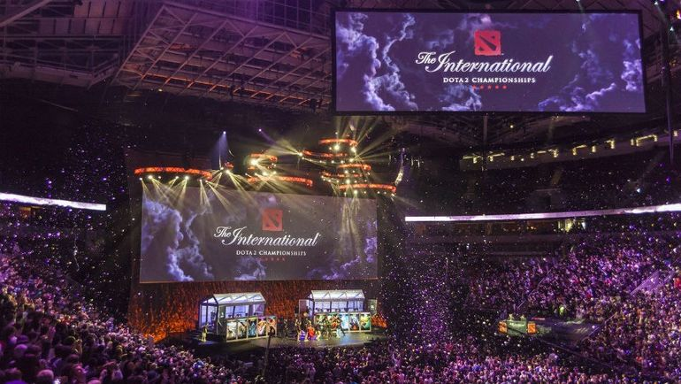 The International 2014. Фото Valve