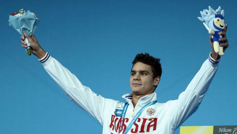 Евгений РЫЛОВ выиграл чемпионат мира с серьезной травмой плеча. Фото AFP