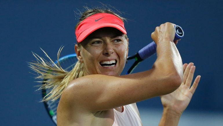 Мария ШАРАПОВА снялась с турнира в Стэнфорде перед матчем второго круга. Фото AFP