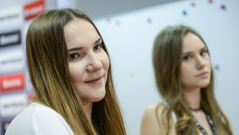 """Мария ВАДЕЕВА (слева) и Раиса МУСИНА. Фото Дарья ИСАЕВА, """"СЭ"""""""