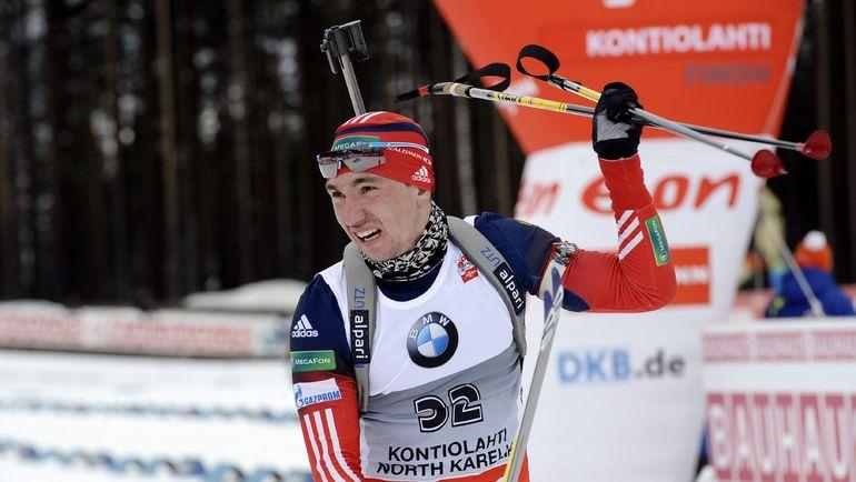 В прошлом сезоне Александр ЛОГИНОВ вернулся после двухлетней дисквалификации за допинг. На прошлой неделе он получил звание заслуженного мастера спорта. Фото AFP