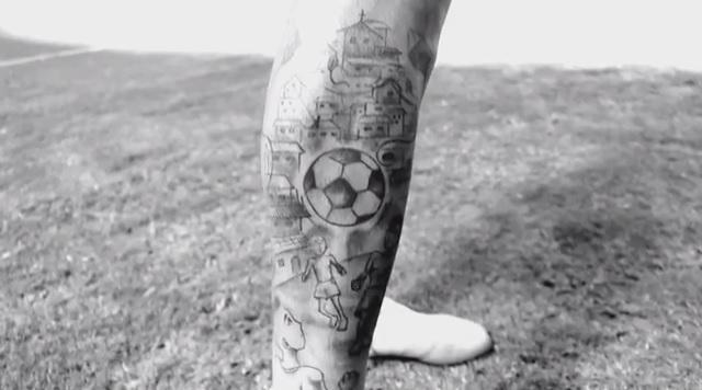Татуировки Луана.