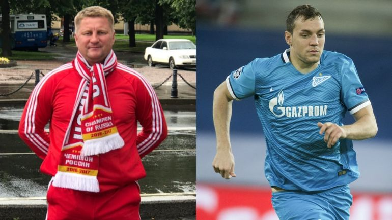 Александр ПАНОВ и Артем ДЗЮБА.