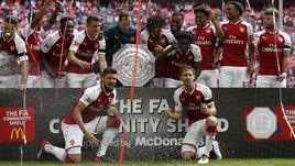 """Воскресенье. Лондон. """"Арсенал"""" - """"Челси"""" - 1:1, пенальти - 4:1."""