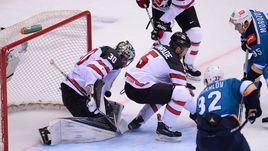 """Сегодня. Сочи. Сборная Канада - """"Сочи"""" - 1:0 ОТ. Канадцы начали турнир в России с победы."""