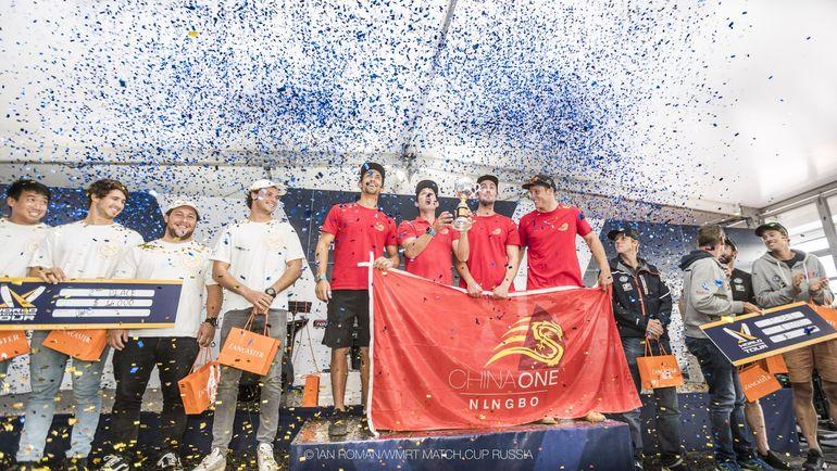 Фил Робертсон выиграл этап Мирового тура по матчевым гонка Match Cup Russia в Санкт-Петербурге.