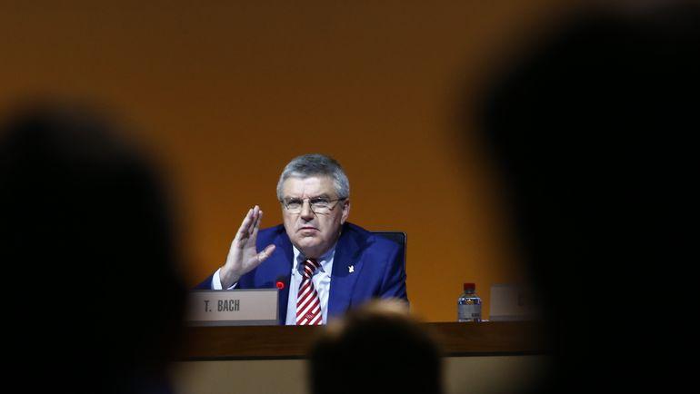 Томас БАХ. Фото AFP