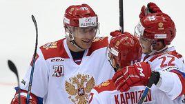 Сегодня. Сочи. Россия - Канада. Товарищеский матч получается богатым на события.