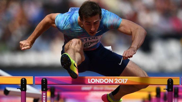 Сергей ШУБЕНКОВ - серебряный призер ЧМ-2017 в Лондоне. Фото AFP