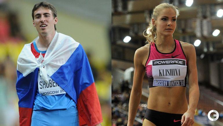 Сергей ШУБЕНКОВ и Дарья КЛИШИНА.