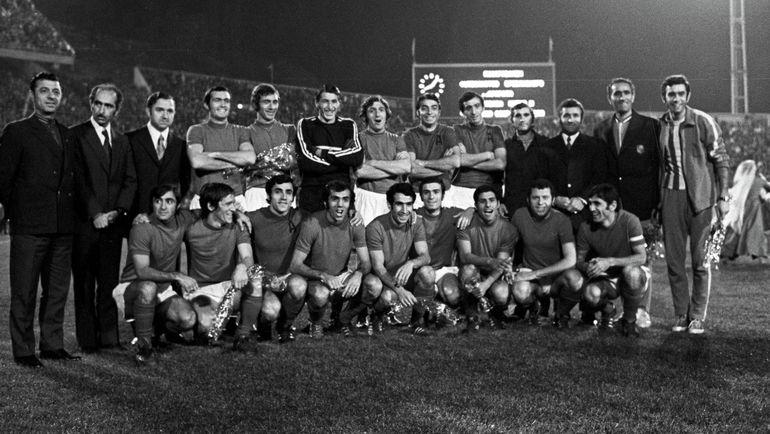 """В 1973 году ереванский """"Арарат"""" покорил две вершины, став шестой в СССР командой, выигравшей в одном сезоне первенство и Кубок. Фото РИА Новости"""