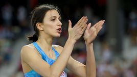 Мария ЛАСИЦКЕНЕ вышла в финал чемпионата мира в прыжках в высоту.