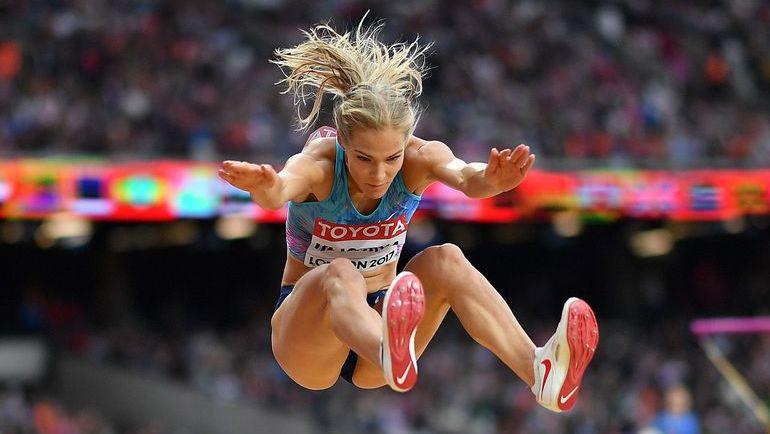 Дарья КЛИШИНА прыгнула на 7 метров впервые за шесть лет. Фото AFP