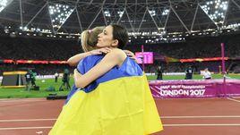 Вчера. Лондон. Юлия ЛЕВЧЕНКО (слева) и Мария ЛАСИЦКЕНЕ.