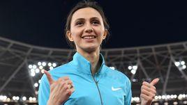 Вчера. Лондон. Мария ЛАСИЦКЕНЕ выиграла золотую медаль чемпионата мира.