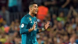 """Сегодня. Барселона. """"Барселона"""" - """"Реал"""" - 1:3. КРИШТИАНУ РОНАЛДУ: выход на замену, победный гол и удаление."""