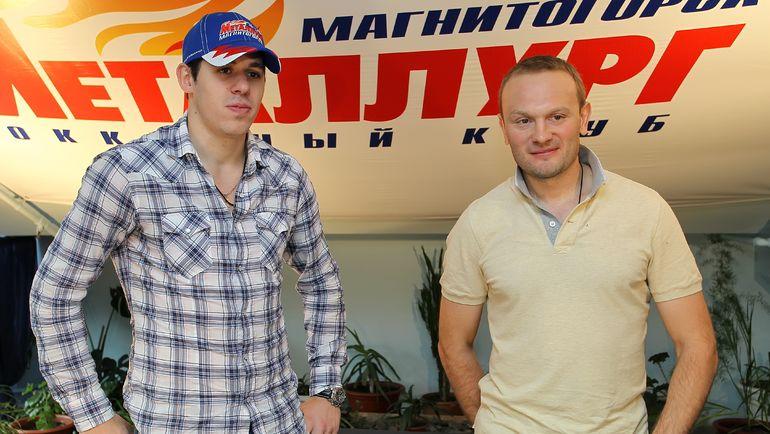 Евгений МАЛКИН (слева) и Сергей ГОНЧАР. Фото photo.khl.ru