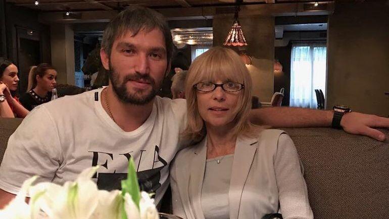 Александр ОВЕЧКИН с Верой ГЛАГОЛЕВОЙ. Фото Instagram.com/aleksandrovechkinofficial