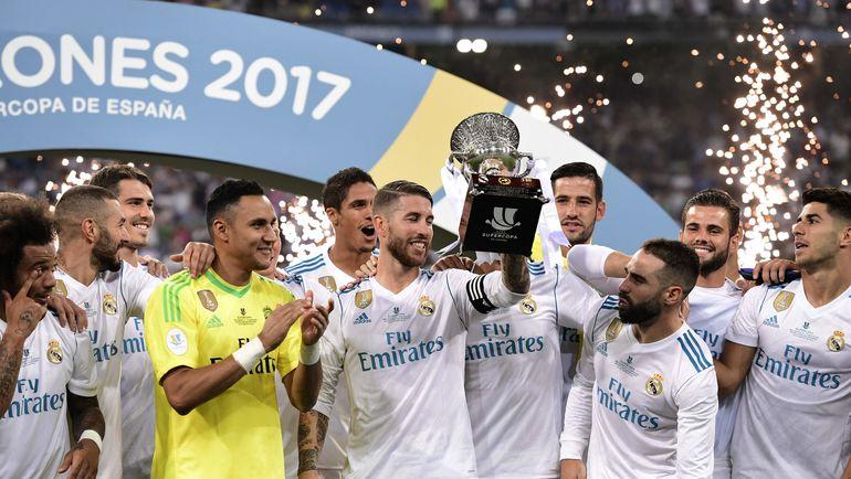 """""""Реал"""" - обладатель Суперкубка Испании. Фото AFP"""