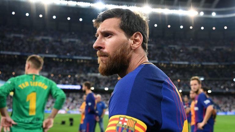 """Среда. Мадрид. """"Реал"""" - """"Барселона"""" - 2:0. Лионель МЕССИ не смог остановить мадридскую команду. Фото AFP"""