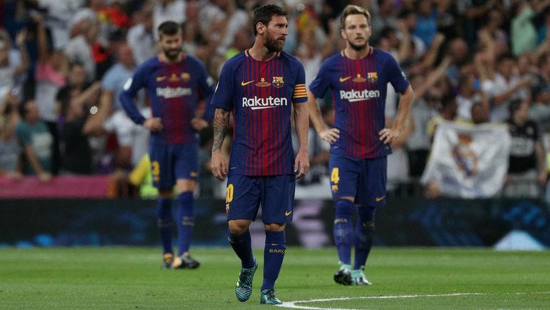 """У """"Барселоны"""" пока не получается перестроиться после ухода Неймара. Фото AFP"""